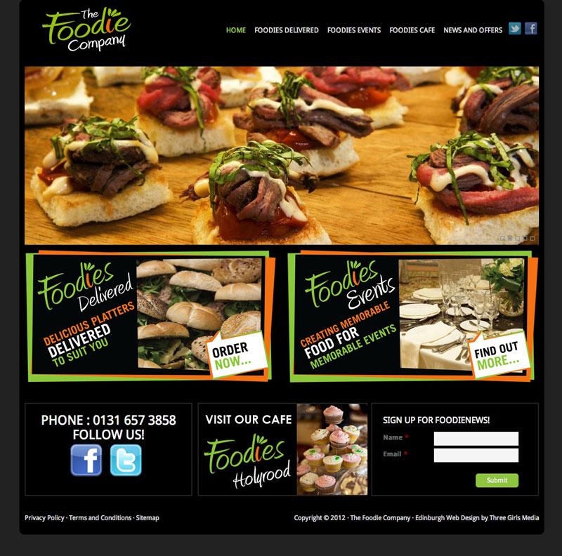 The-Foodie-Company---Web-Design-Edinburgh-by-Three-Girls-Media