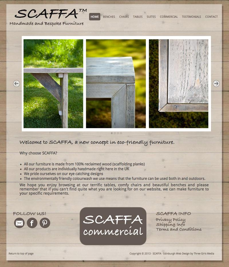 Scaffa Home Page