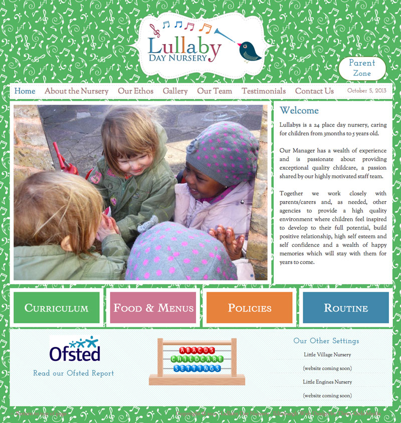 lullabys-nursery-website-home-page