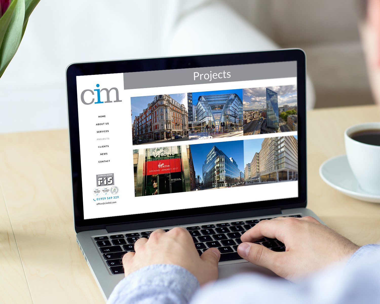 Westerham-Website-Design-for-CIM-by-Three-Girls-Media