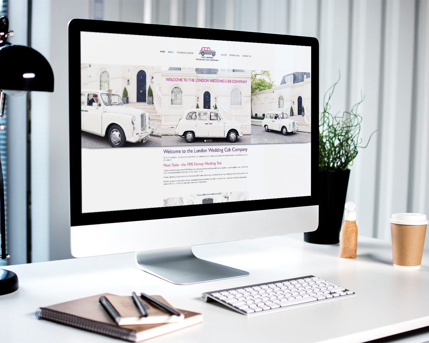 web-design-for-wedding-cab-london