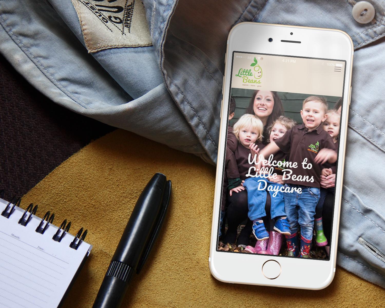 Kindergarten-Website-Design-for-Little-Beans-Daycare_Mockup_Home