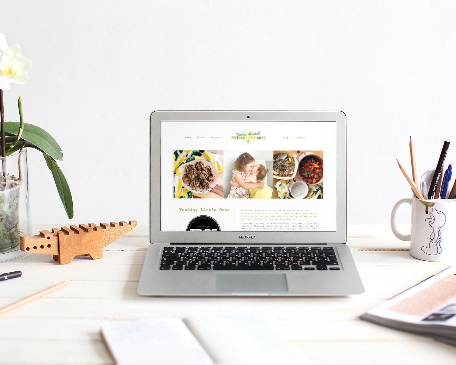 Recipe-Blog-Website-Design-for-Feeding-Little-Ones-by-Three-Girls-Media_Macbook