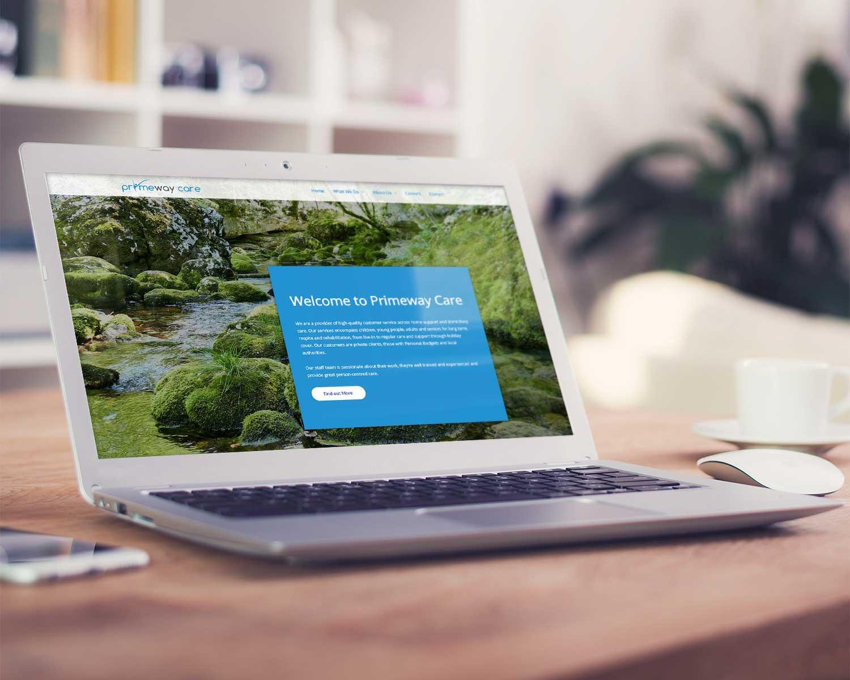 Web-Design-for-Primeway-Care_Three-Girls-Media_Laptop