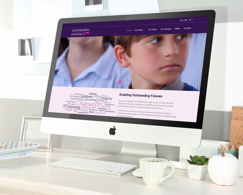 Website-Design-for-Chatsworth-Schools_Desktop
